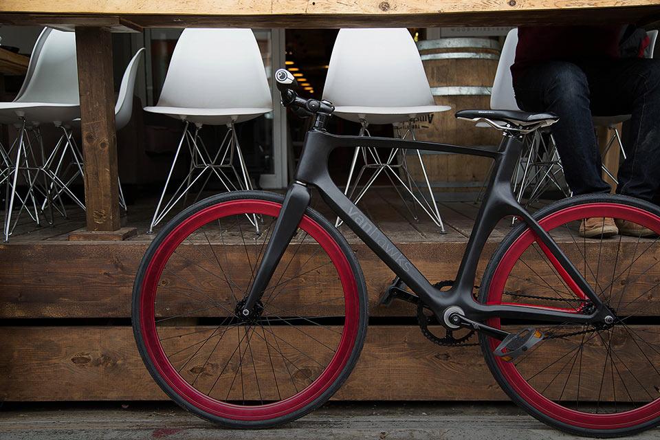 Смарт-велосипед Vanhawks Valour