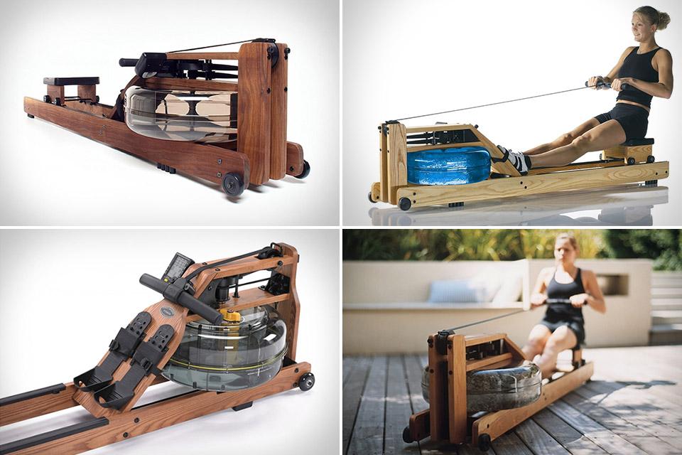 Тренажер для гребли WaterRower из «Карточного домика»