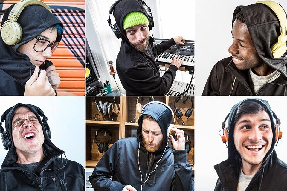 Толстовка Audio Engineer's Hoodie с «прозрачным» для звука капюшоном