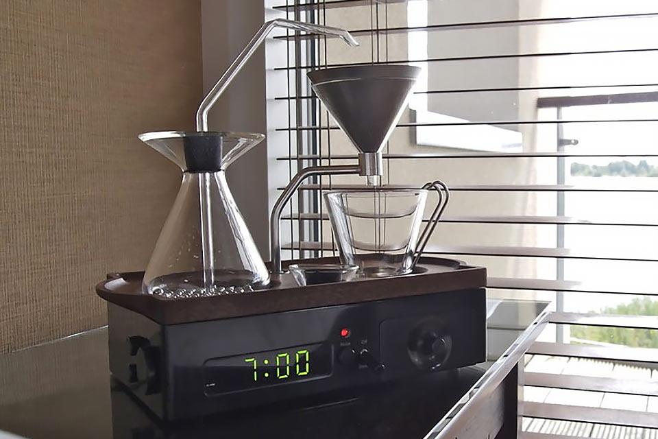 Будильник-кофеварка Barisieur