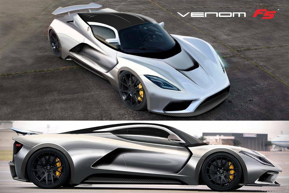 Самый быстрый в мире суперкар Hennessey Venom F5
