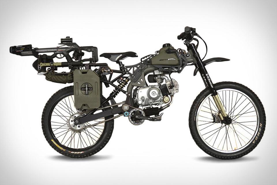 Байк Motoped Survival Bike на случай зомби-апокалипсиса