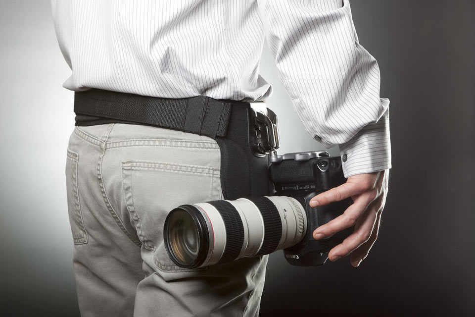 Хольстер Spider Pro SCS для системных камер