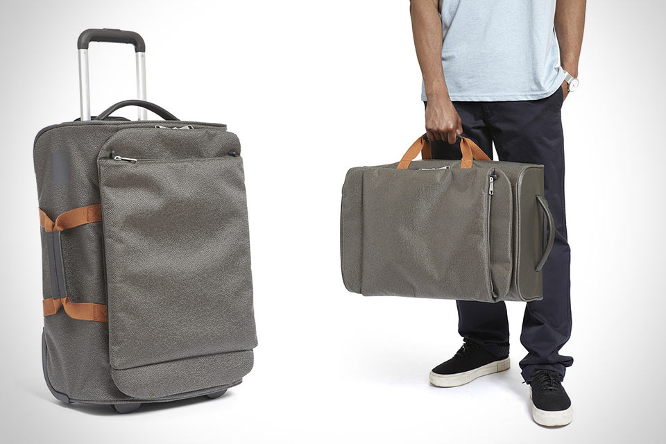 Складная сумка на колесах Pebble Folding Bag