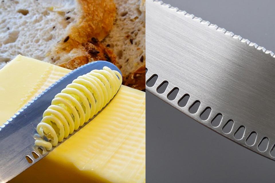 Революционный нож ButterUp для сливочного масла