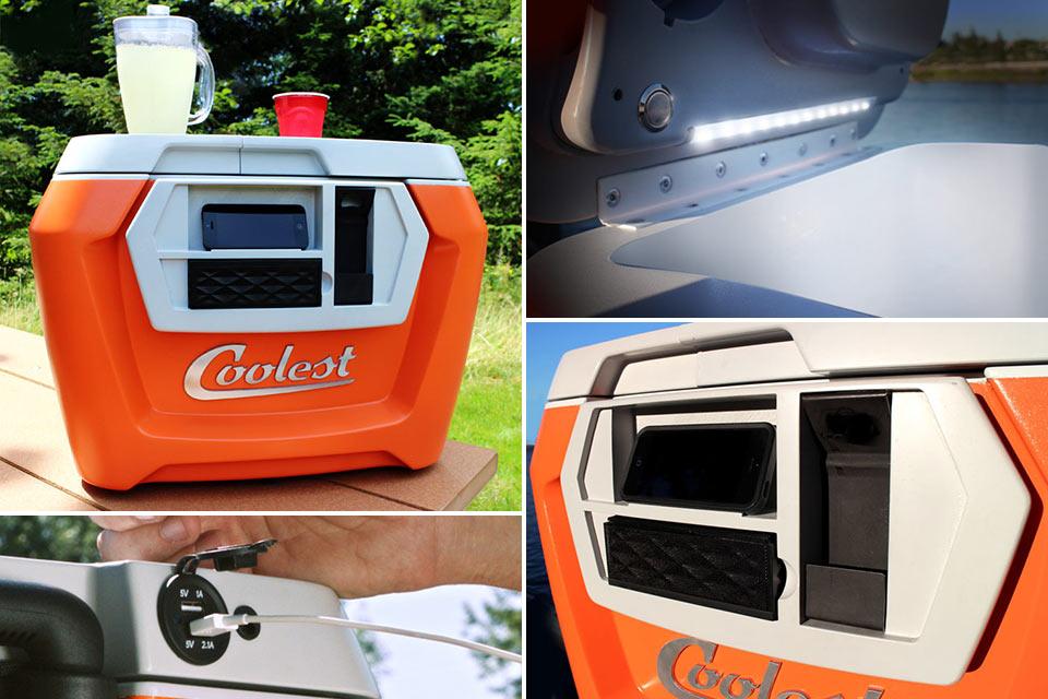 Крутой походный кулер COOLEST Cooler, собравший $11 млн на Kickstarter