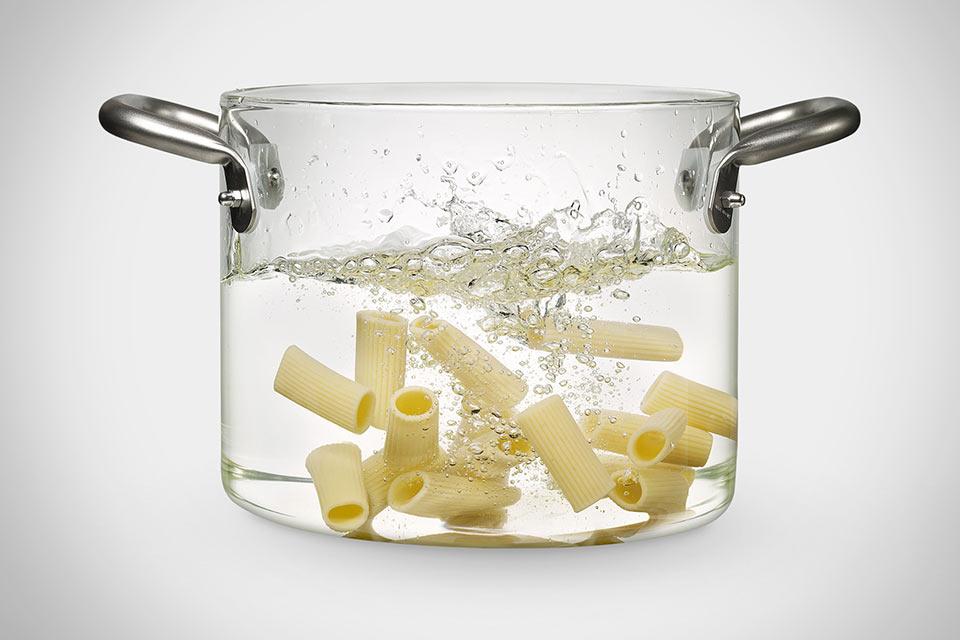 Стеклянная кастрюля Glass Pot
