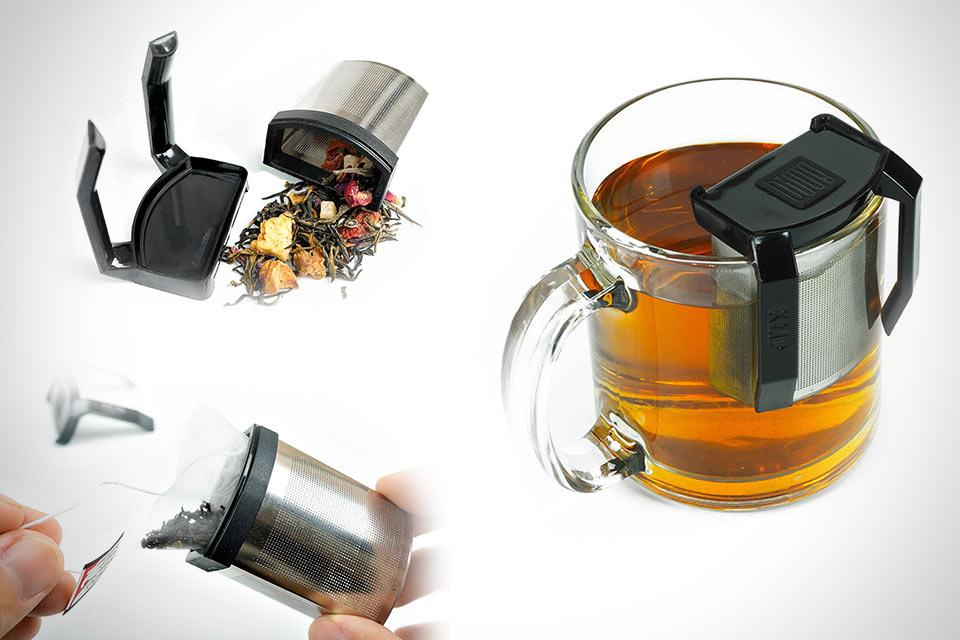 Чайное ситечко KLiP для насыщенного вкуса