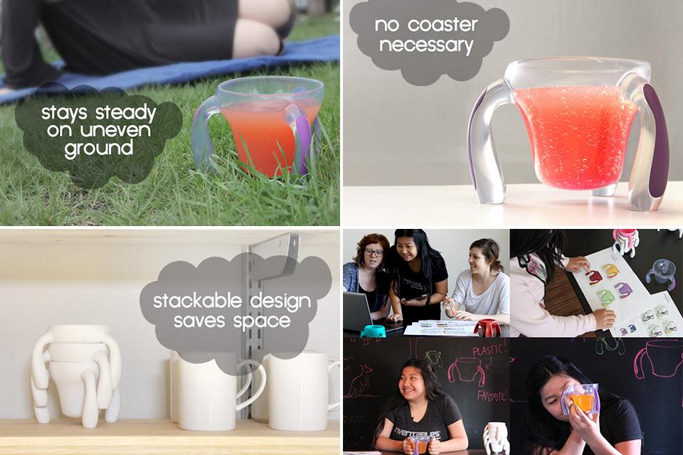 Чашка-осьминог Kangaroo Cup