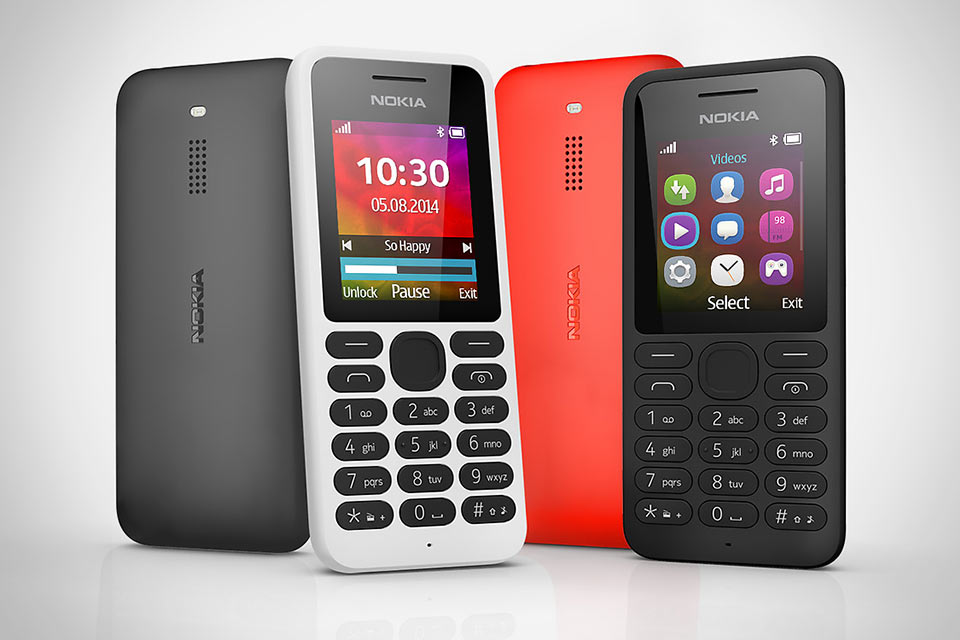Классическая звонилка Nokia 130 с емким аккумулятором