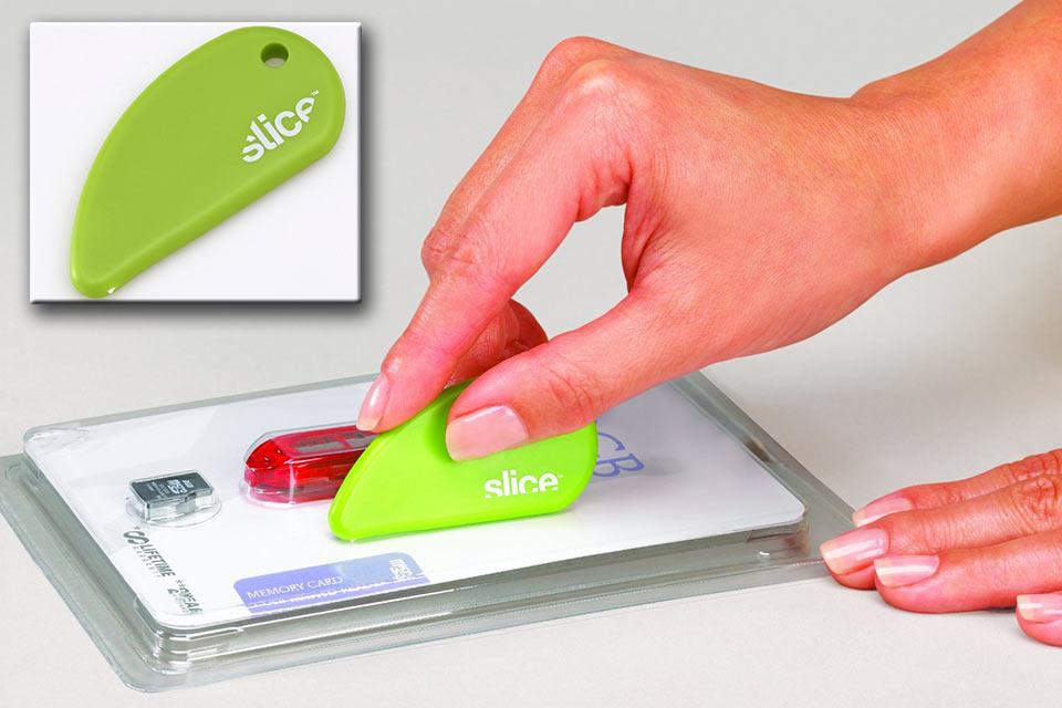 Замена ножу и ножницам Slice для комфортного вскрытия упаковок