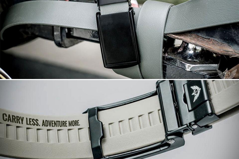 Поясной ремень Survival Belt с мультитулом и GPS