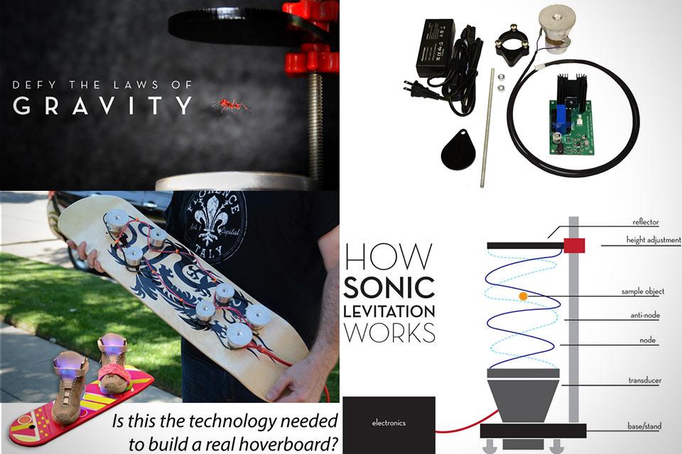 Ультразвуковой прибор Ultrasonic Levitation Machine для левитации