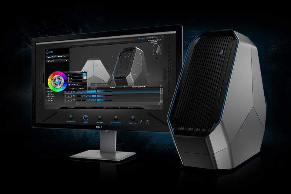 Игровой суперкомпьютер Alienware Area 51 в треугольном корпусе