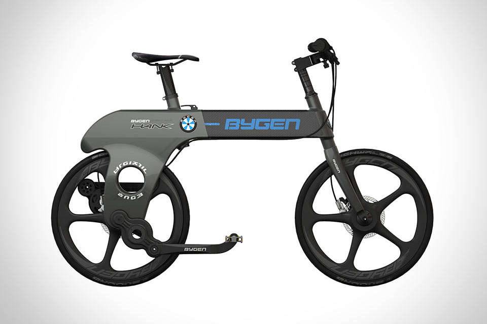 Складной велосипед Bygen Hank с прямым приводом