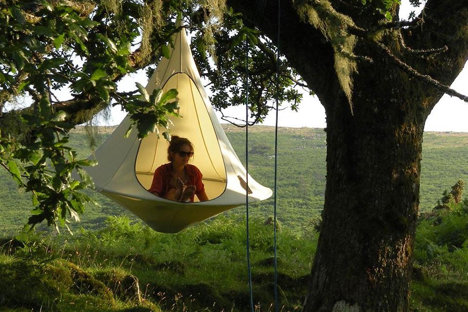 Висячее гнездо Cacoon для людей
