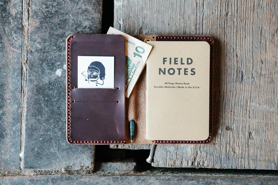 Бумажник для путешественника Loyal Travel Wallet с блокнотом