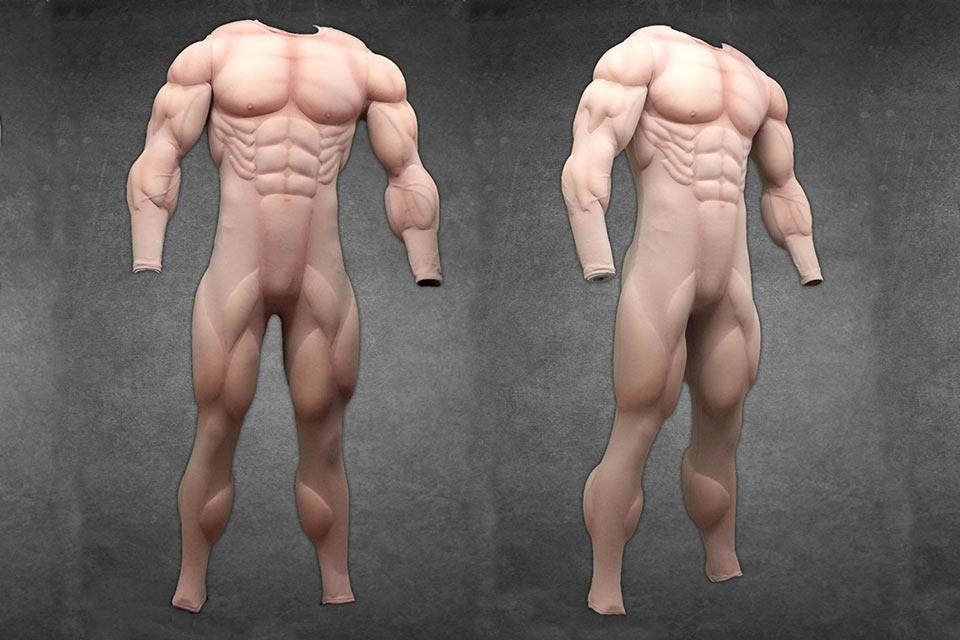 Костюмы Muscle Suits, которые превращают любых обывателей в качков