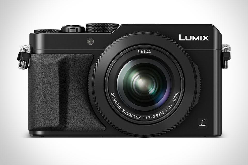 Компактная камера Panasonic LUMIX LX100 с функцией записи 4K видео