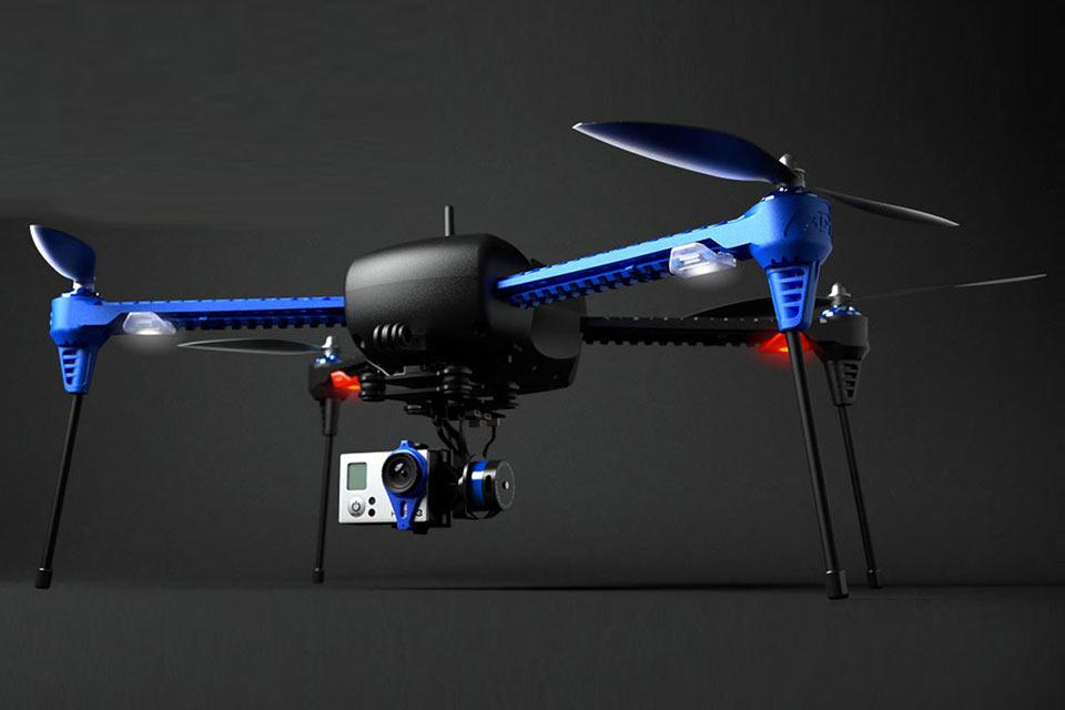 Автоматический дрон-видеооператор 3DRobotics IRIS+