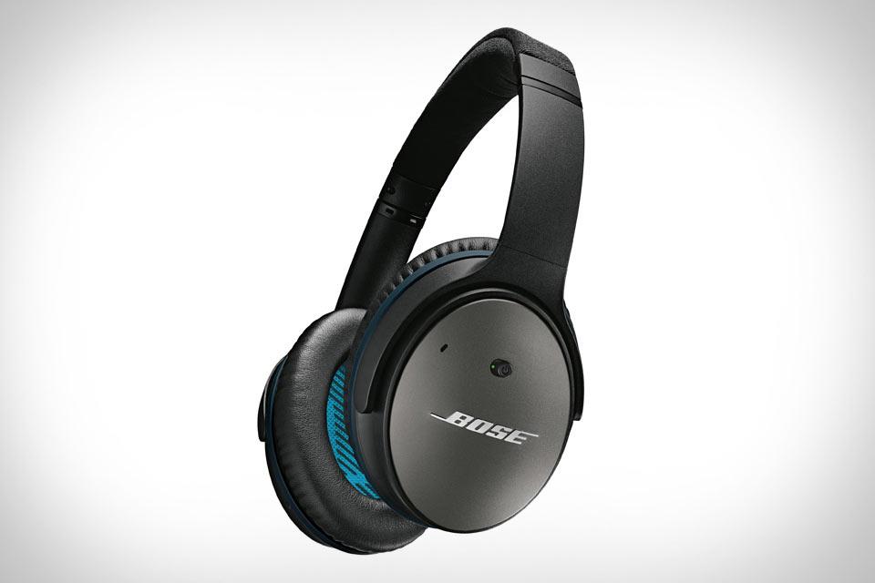 Наушники Bose QuietComfort 25 с крутой системой шумоподавления