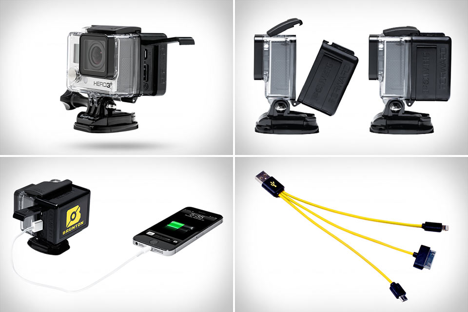 Емкий аккумулятор BruntonAll DayPower Pack для GoPro