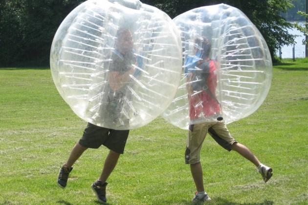 Bubble-Soccer-Battle
