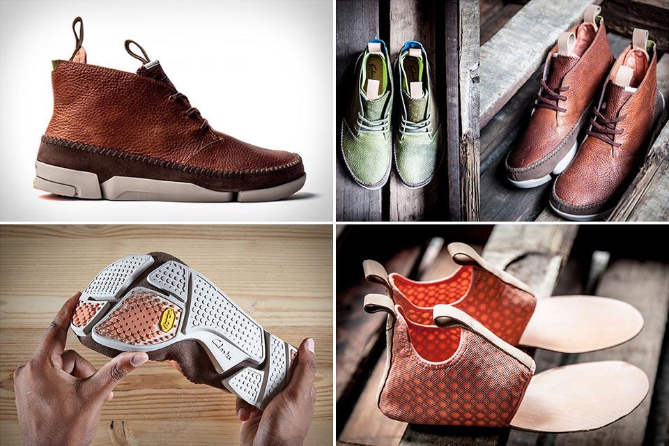 Ботинки Clarks Trigenic со спортивными корнями