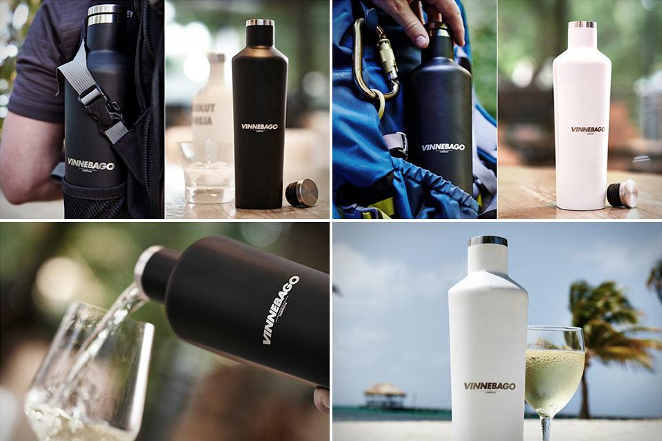 Бутылка-термос Corkcicle Vinnebago с особой формой