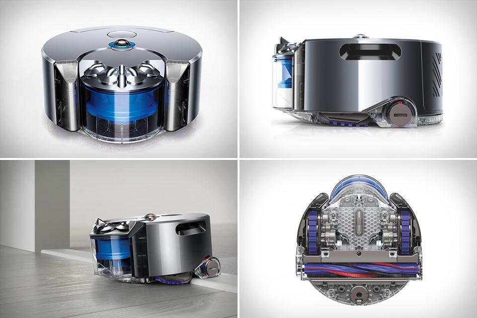 Первый действительно эффективный робот-пылесос Dyson 360 Eye