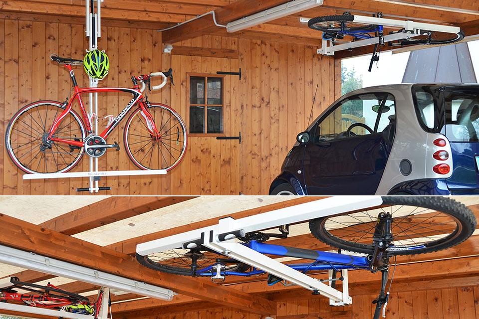 Потолочный велокрепеж Flat-Bike-Lift