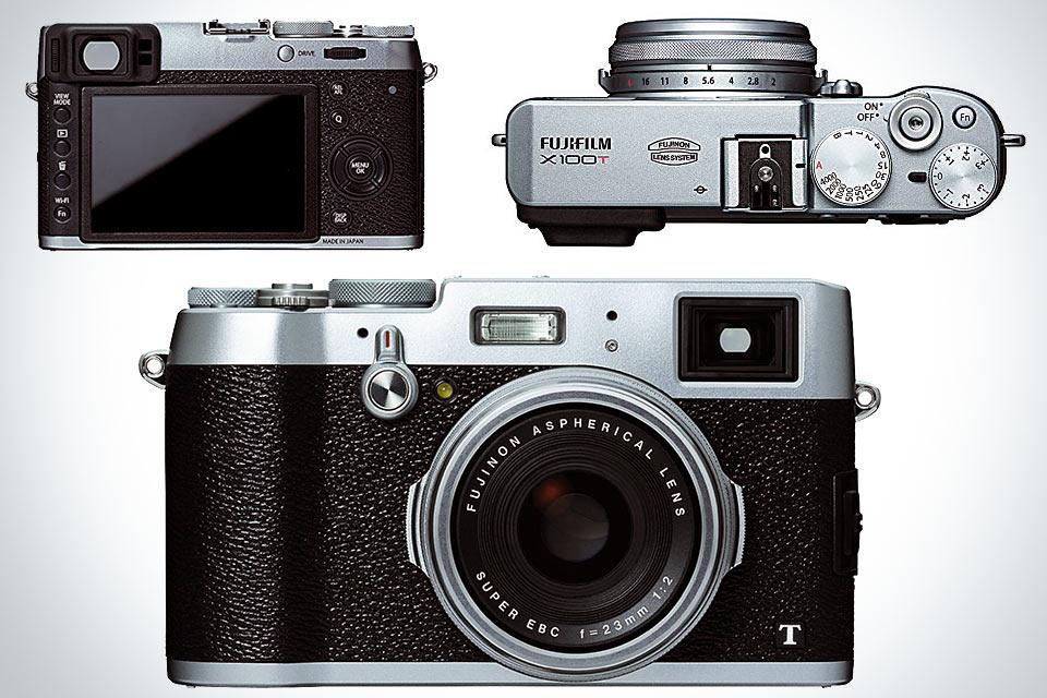 Компактная камера FujiFilm X100T топ-класса