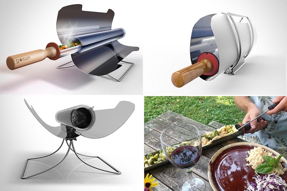 Солнечная плита GoSun Stove для быстрой готовки еды без огня