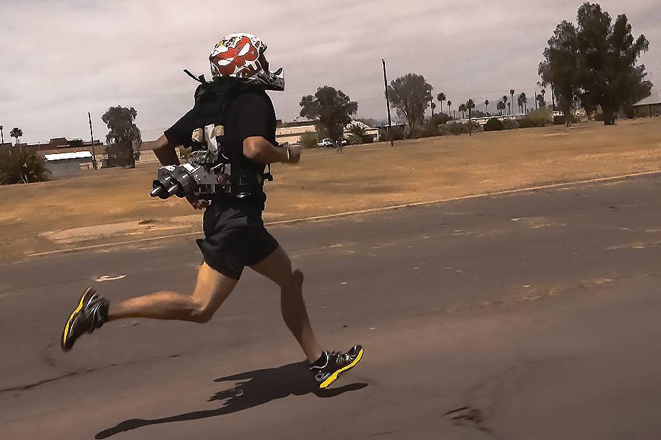 Реактивный ранец Jetpack For Runners для солдат и бегунов