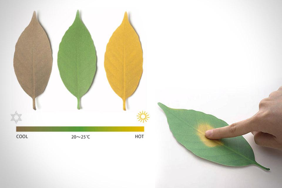 Комнатные термомеры Leaf Thermometer в форме листьев