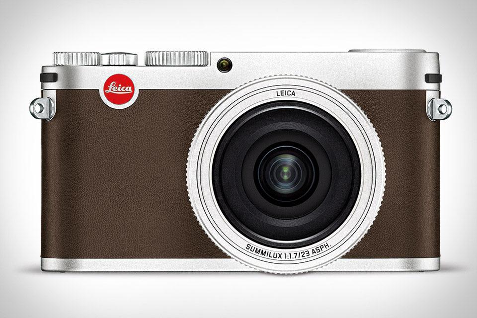 Компактная камера Leica X из магниевого сплава и натуральной кожи