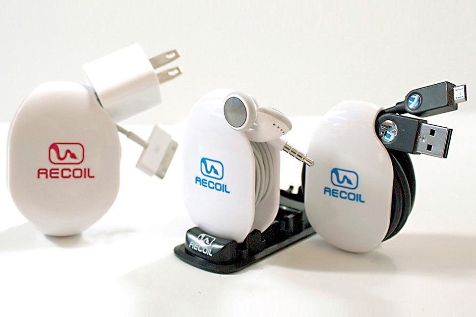 Органайзеры для проводов Recoil с функцией автоматической намотки