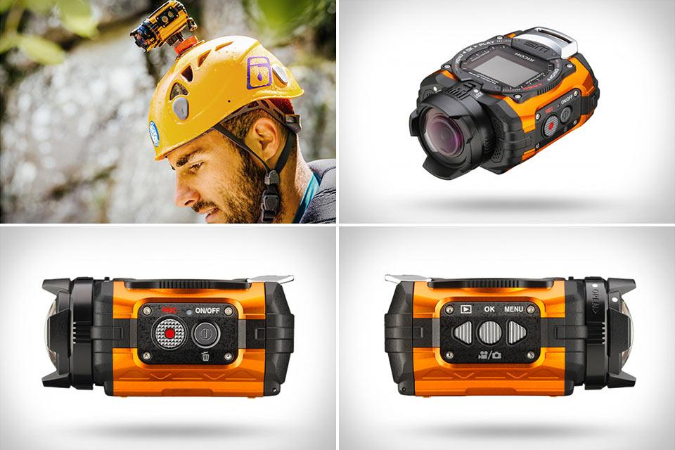 Экшн-камера Ricoh WG-M1 со встроенным дисплеем