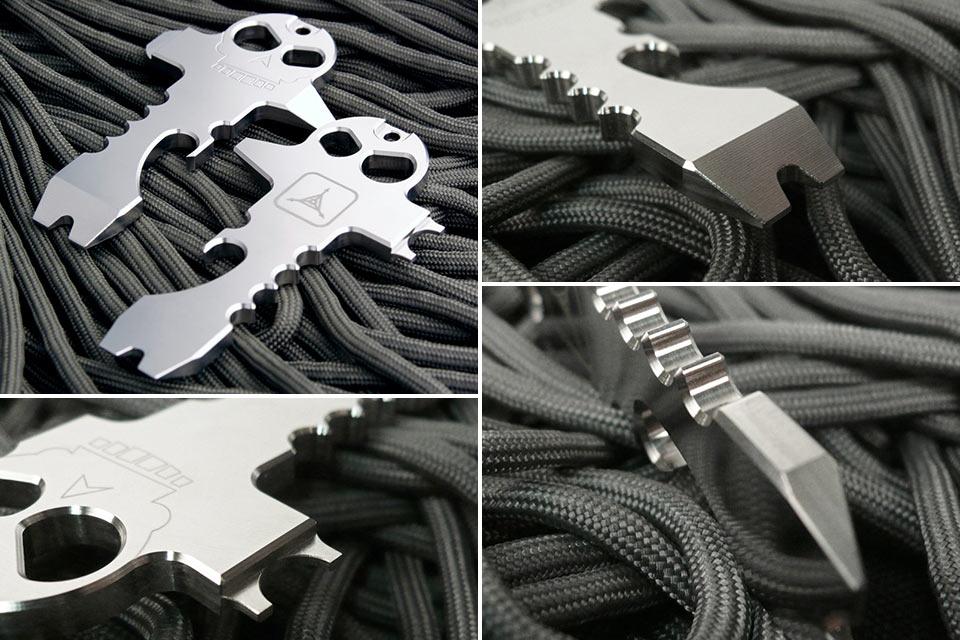 Миниатюрный мультитул Skeleton Key в форме ключа