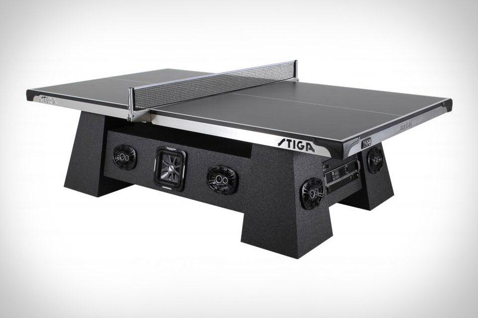 Теннисный стол Stiga Studio Ping Pong Table с монструозной акустикой