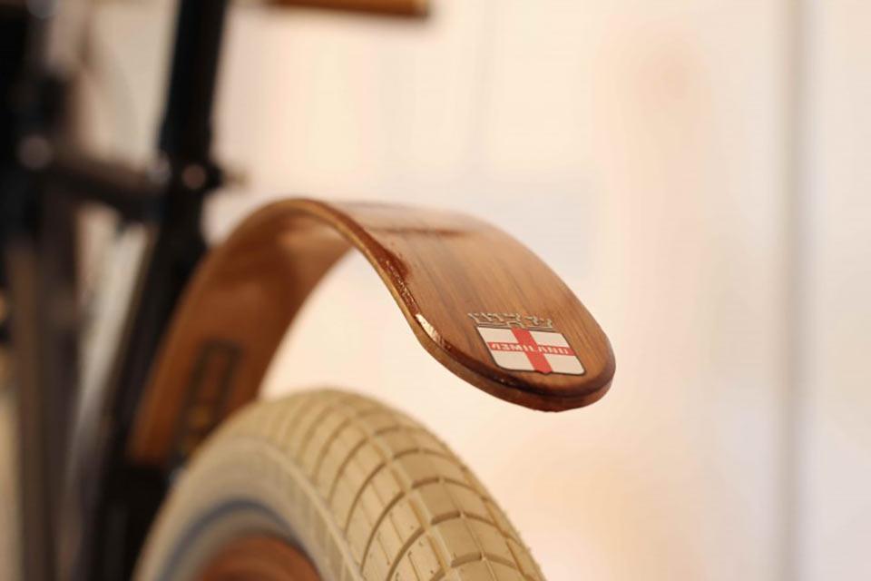 Деревянные велобрызговики Chop Chort
