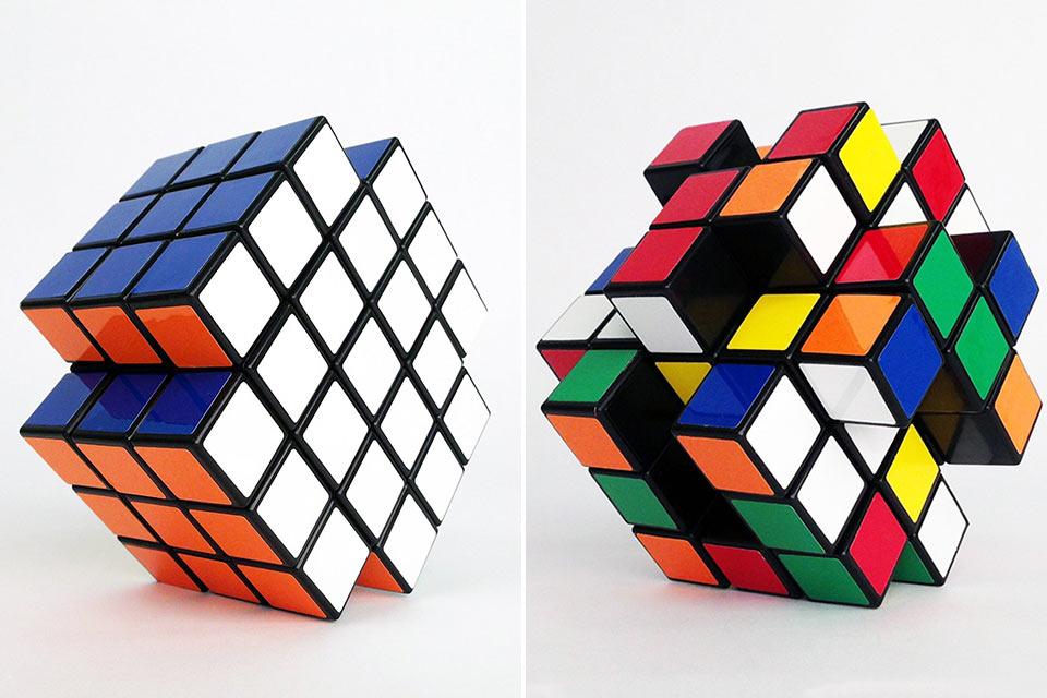 Головоломка X-Cube, срамящая кубик Рубика