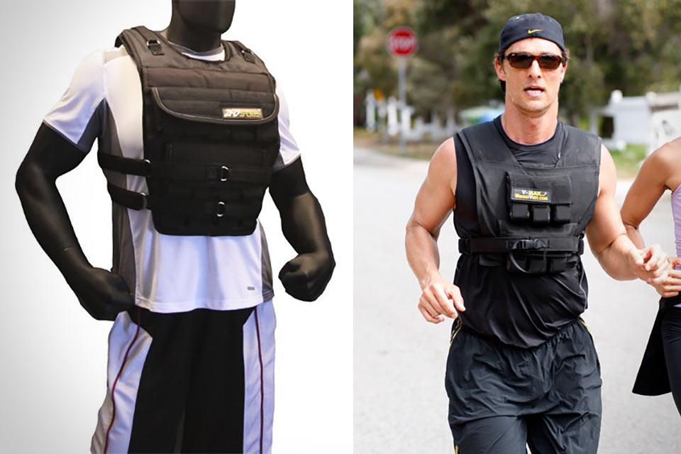Жилет ZFOsports 100LBS Weighted Vest для желающих бегать с 65 кг на плечах