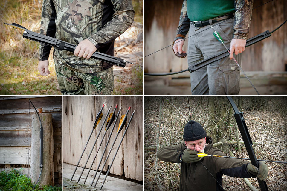 Складной лук Compact Folding Survival Bow