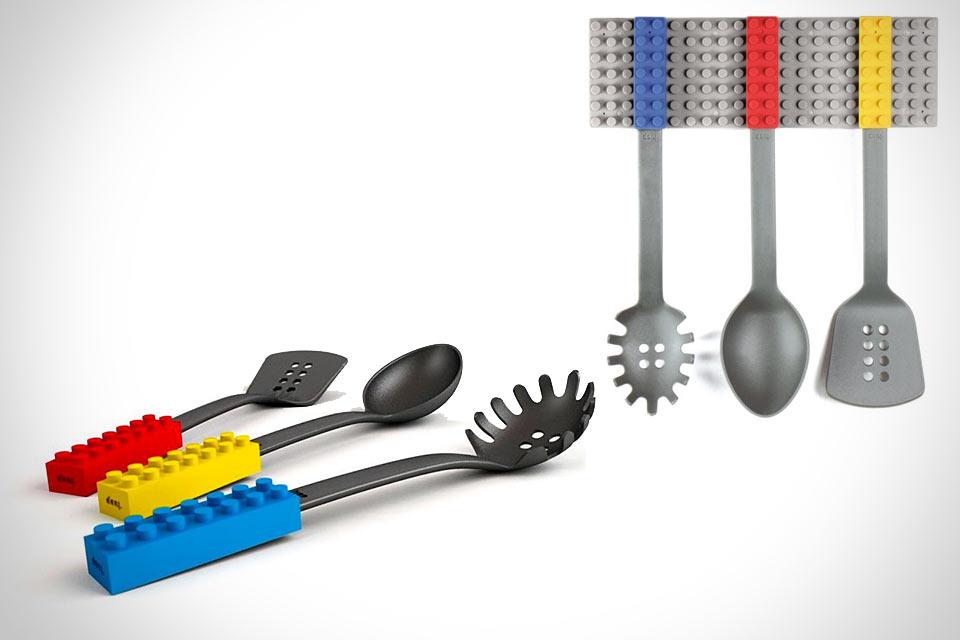 Набор кухонных принадлежностей Cooking Blocks в формате LEGO