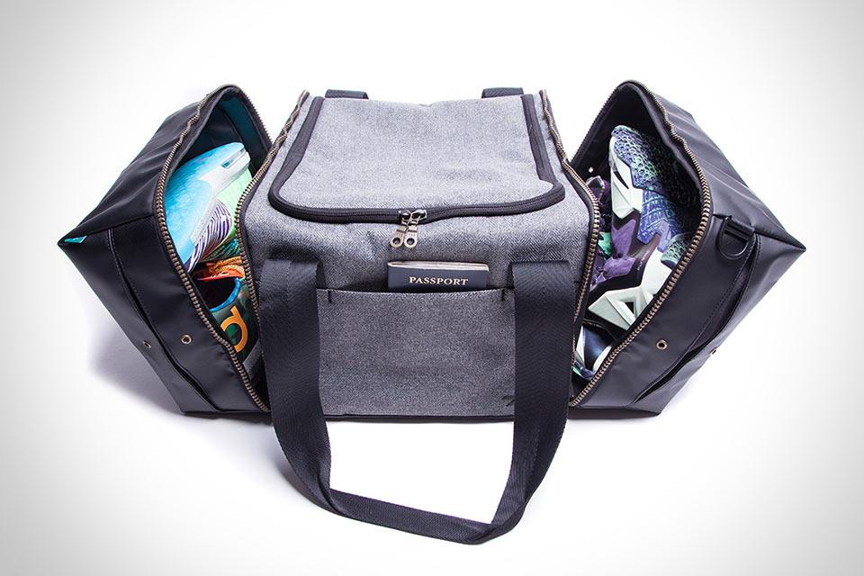 Дорожная сумка Shrine Sneaker Duffel с удобными отделами для обуви