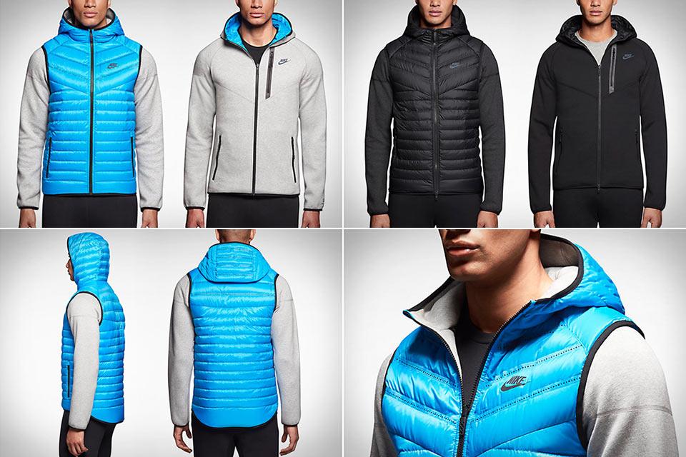 Двухсторонняя куртка Aeroloft Windrunner из флиса и пуховой жилетки