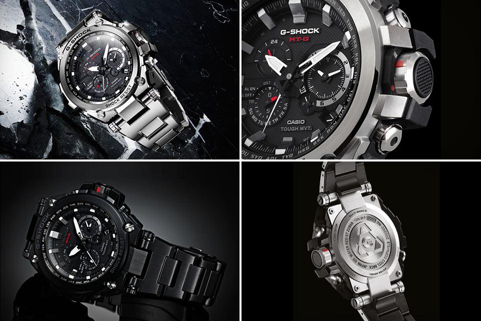 Часы Casio G-Shock MT-G MTG-S1000 из стали