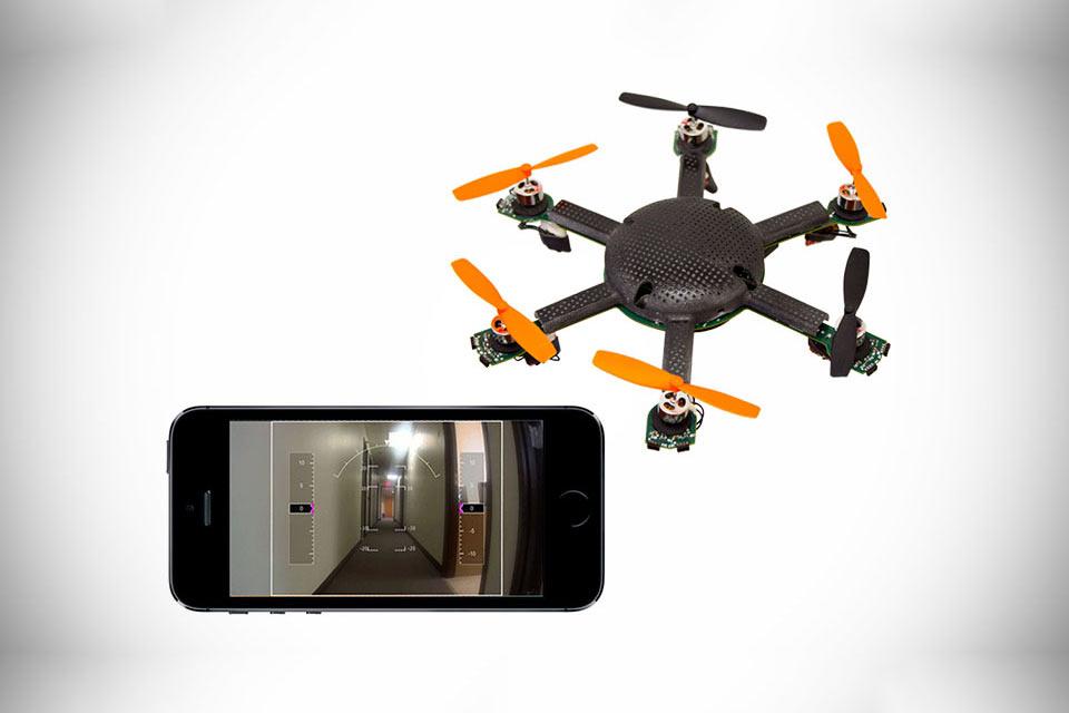 Микродрон Extreme Access Pocket Flyer, способный летать два часа без подзарядки