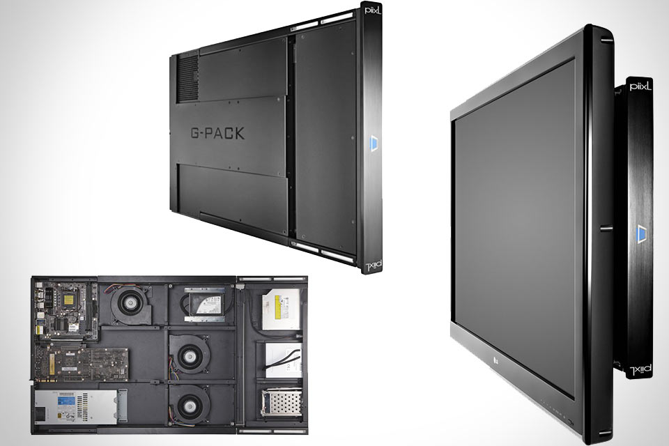 Крепящийся сзади телевизора сверхтонкий игровой ПК G-Pack